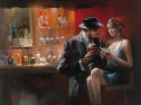 Evening in the Bar I