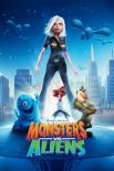 Monsters vs. Aliens - one sheet